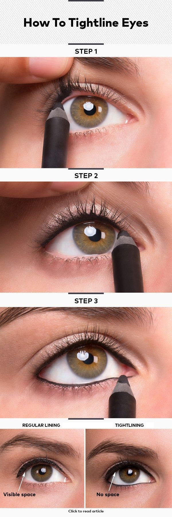 How to Tightline Your Eyes