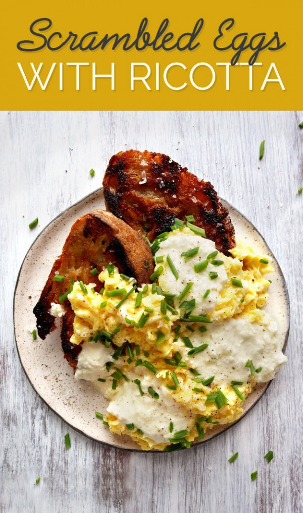 Scrambled Eggs with Ricotta