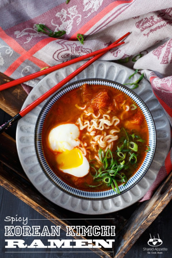 Tasty Ramen with An Egg