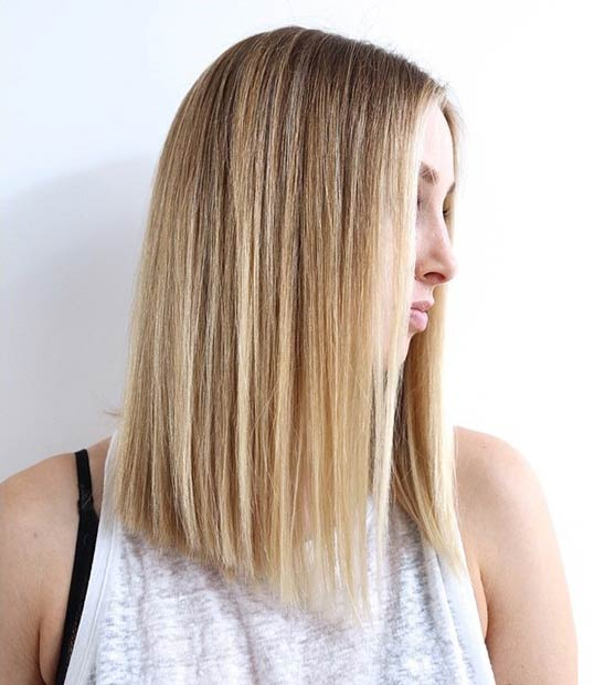 17 Perfect Long Bob Hairstyles For Women Easy Lob