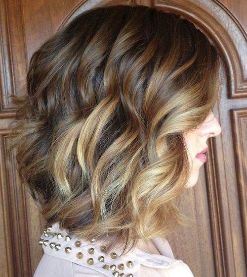 a line haircuts for curly hair 20 delightful wavy curly bob hairstyles for 2016 styles 2933