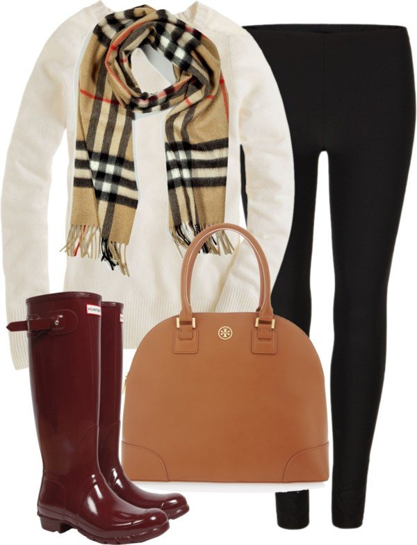 Effortless Black and White Winter Outfit