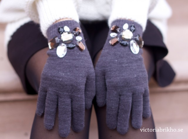 Fashionable DIY Gloves Tutorial