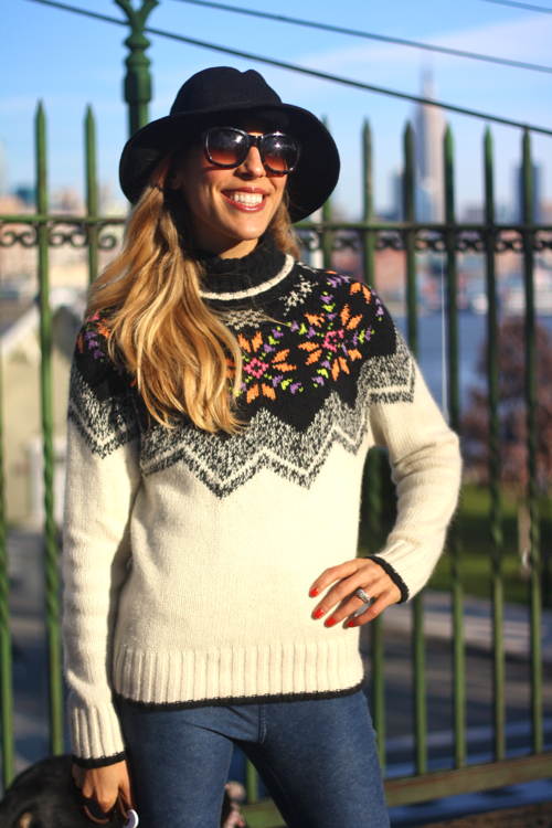 Pretty DIY Sweater Idea