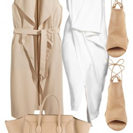 21 Lovely Ways to Wear Nude this Spring/Summer