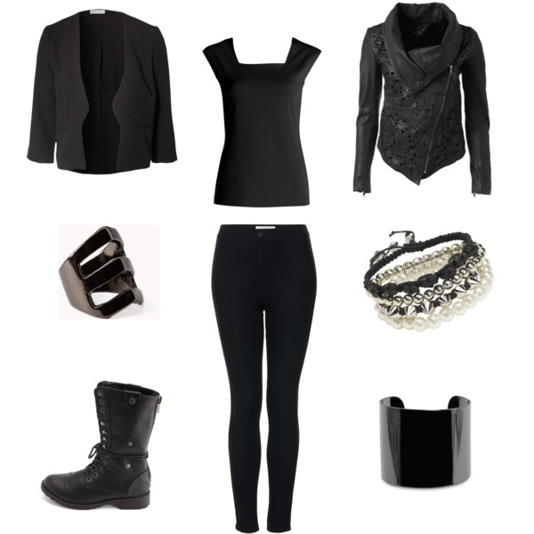 21 Sexy All-Black Outfits (for Winter)