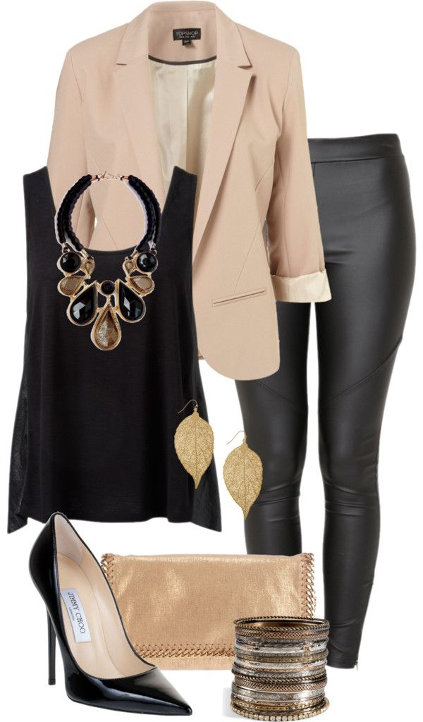 25 Sexy Leather Outfit Ideas for Winter  a4226cf4b