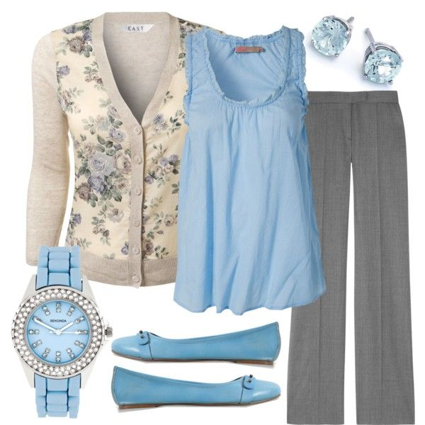 22 Cool Ways to Wear Baby Blue this Fall