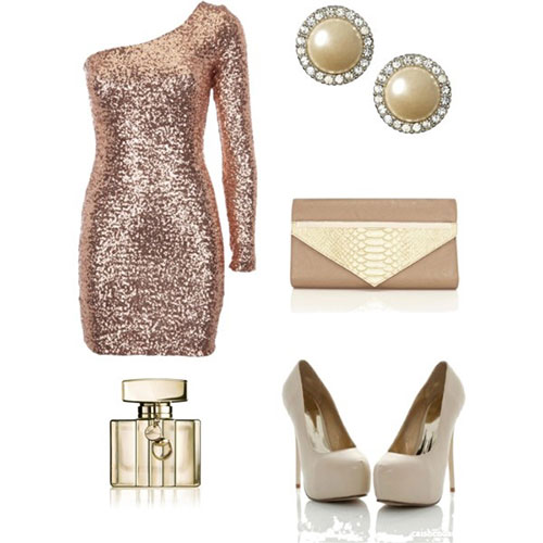 White New Years Eve Dress