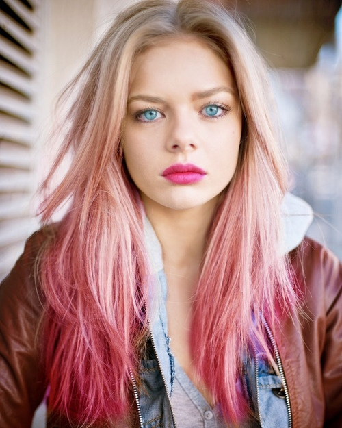 Trendy Hair Color Pretty Pink Hair Looks To Try Styles