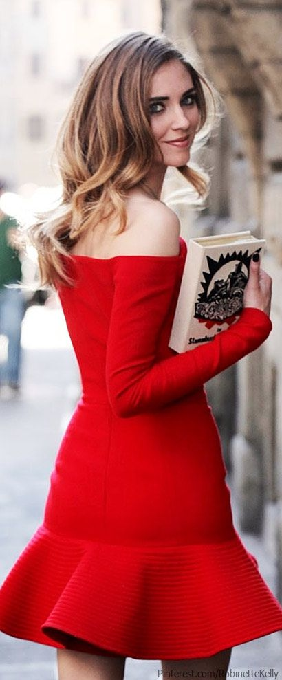 Beautiful Little Red Dress for New Year's Eve