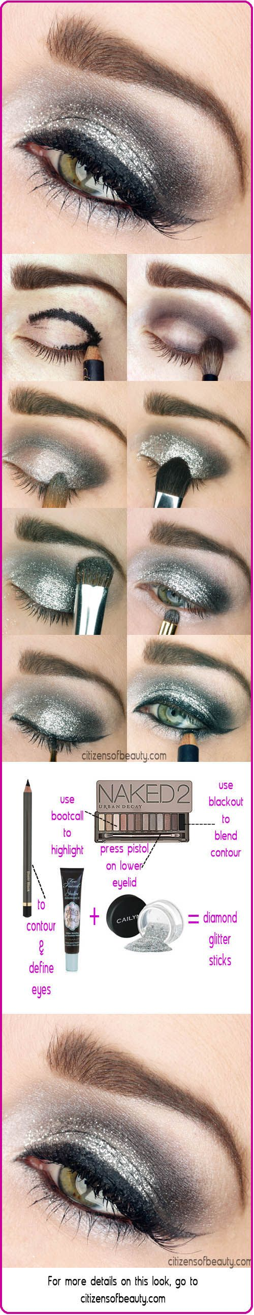 Beautiful New Year Makeup Tutorial