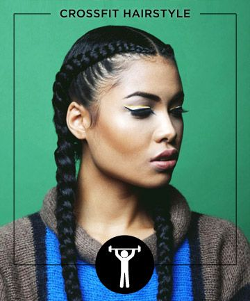 Braided Hairstyle for Sport