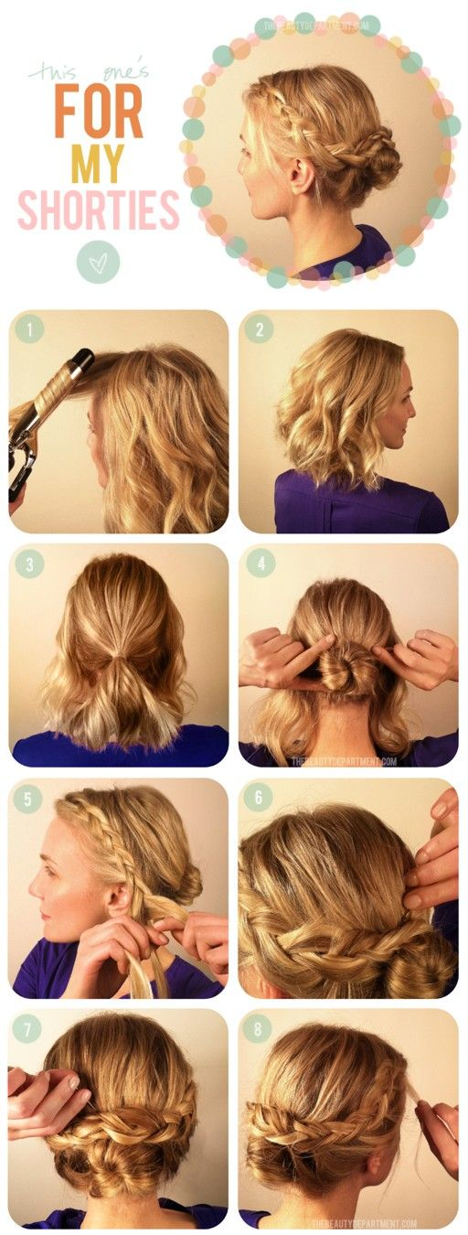 Awesome 15 Easy Hairstyle Tutorials For All Occasions Styles Weekly Short Hairstyles Gunalazisus
