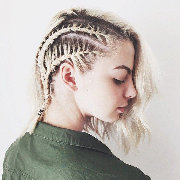 Chic Cornrows for Short Hair