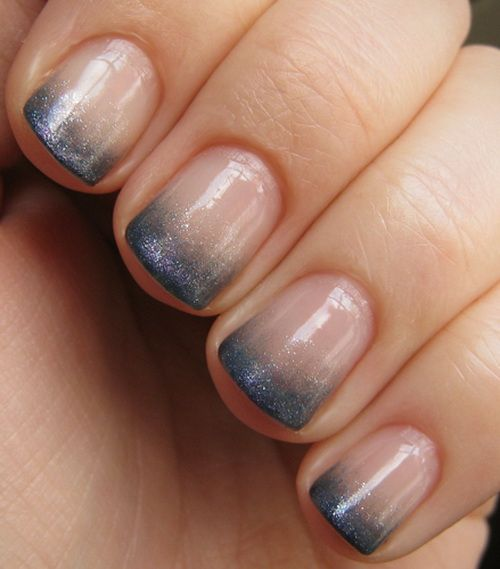 Chic French Nail Manicure for Short Nails