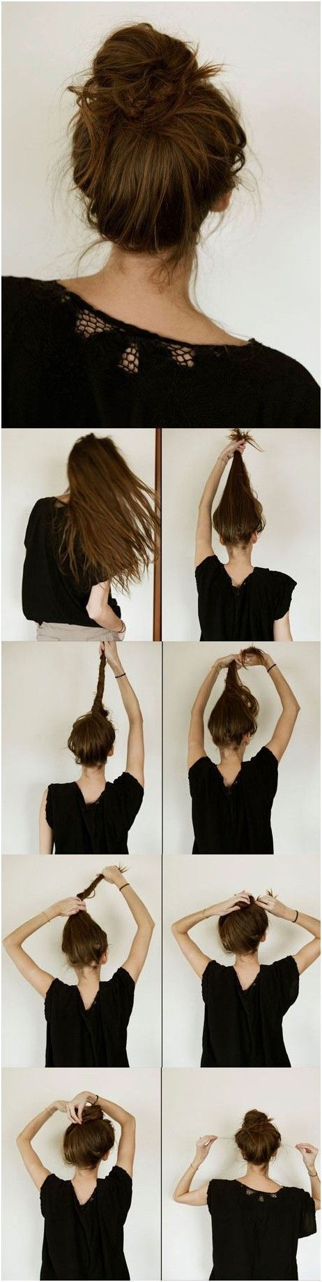 Chic Lazy Bun Hairstyle Tutorial