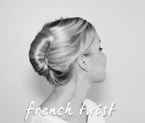 Elegant French Twist Hairstyle