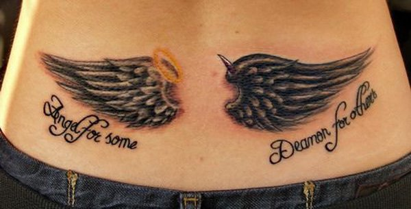 Faddish Wings Tattoo Art