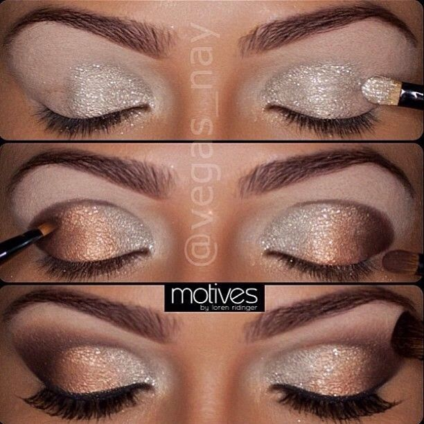 Fashionable New Year's Eve Makeup Tutorial
