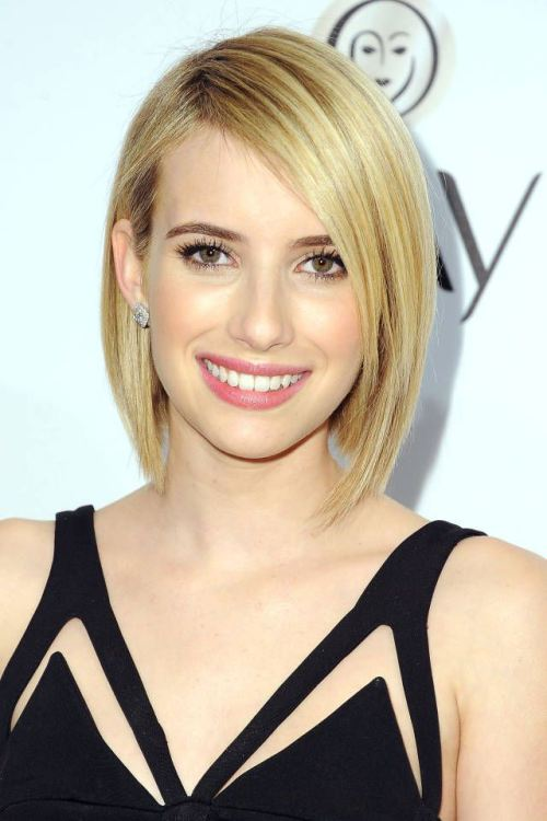 Feminine Sleek A Line Bob Hairstyle