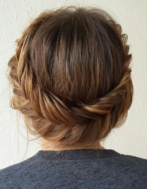 Hairstyles For Medium Length Hair And How To Do It : Easy and pretty updo hairstyles for mid length hair