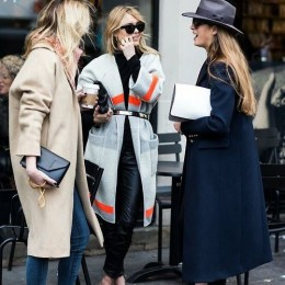 Graceful Long Coat Outfit Looks
