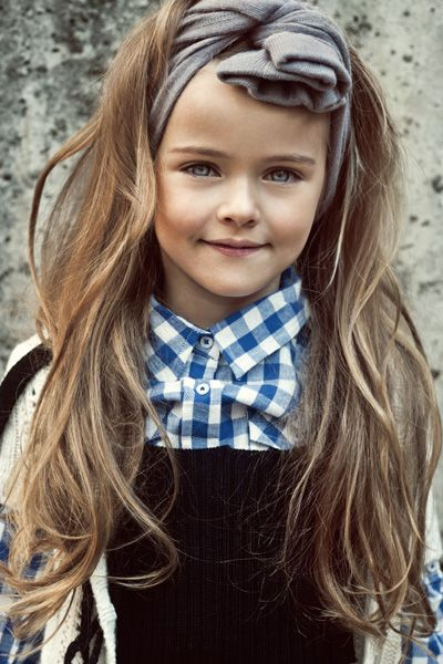 Interesting Headband Hairstyle for Kids