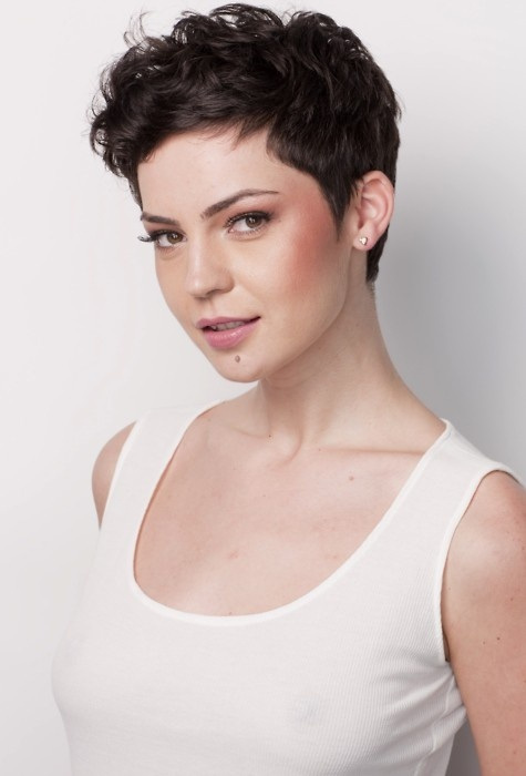 Lovely Pixie Haircut for Prom