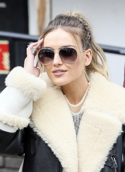 Perrie Edwards Fashionable Ponytail Styles Weekly