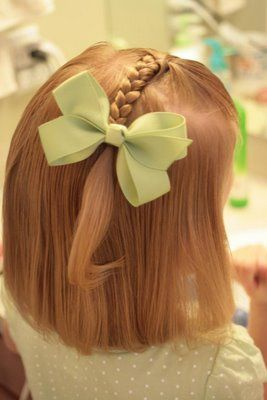 Pretty Little Girls' Hairstyle