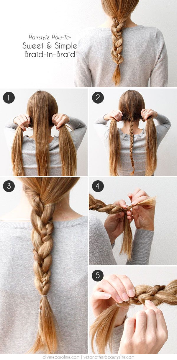 Special And Simple Braided Hairstyle Tutorial