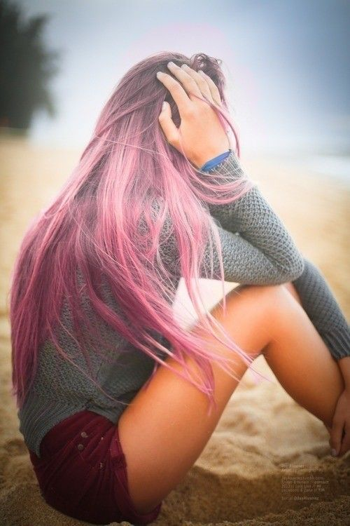Trendy Ombre Pink Hairstyle