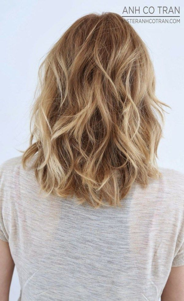Medium length layered hairstyles 2014