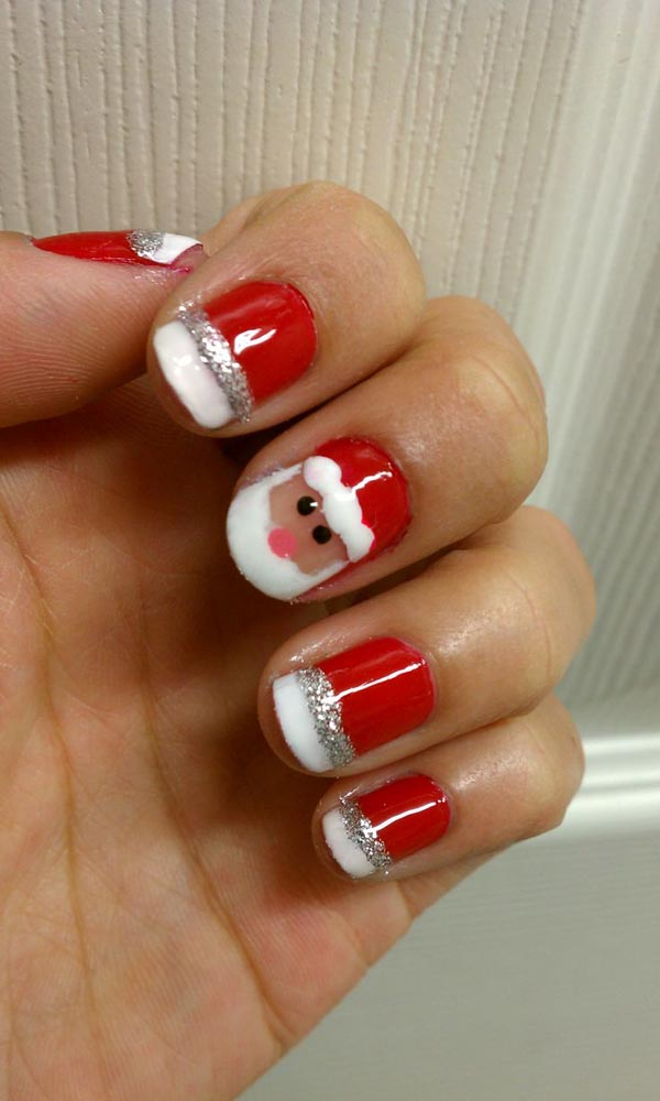 21 Fabulous and Easy Christmas Nail Designs | Styles Weekly