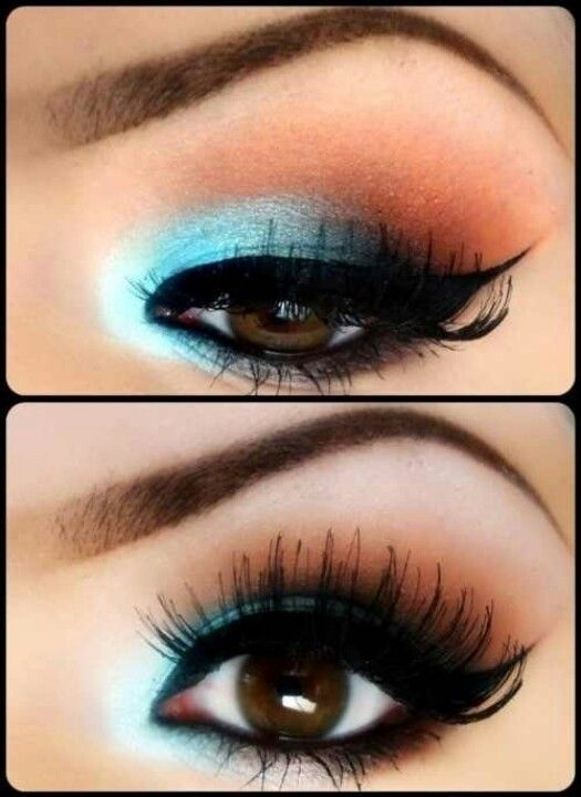 Pin by kelly on makeup for prom | Pinterest |Prom Makeup For Brown Eyes
