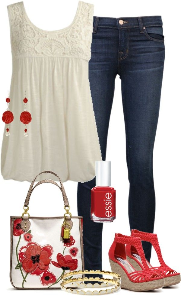TREND ALERT: Red-and-White: The Ultimate Spring/Summer Color Combo