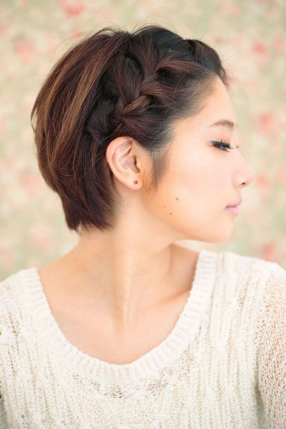 16 Beautiful Short Braided Hairstyles for Spring