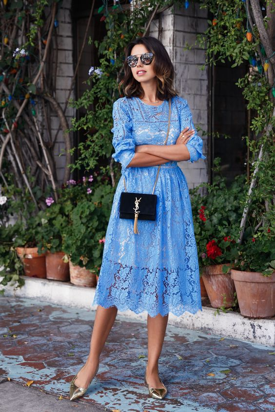 17 Fantastic Ways to Wear Lace Dresses