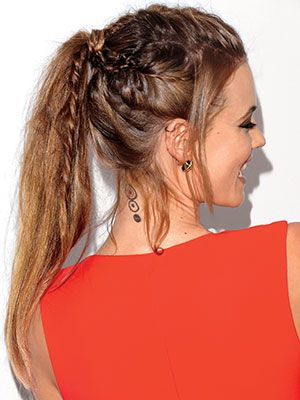 Swell 16 Beautiful Braided Ponytail Hairstyles For Different Occasions Short Hairstyles Gunalazisus