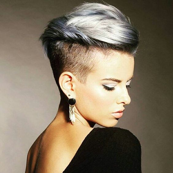 16 edgy chic undercut hairstyles for women styles weekly. Black Bedroom Furniture Sets. Home Design Ideas