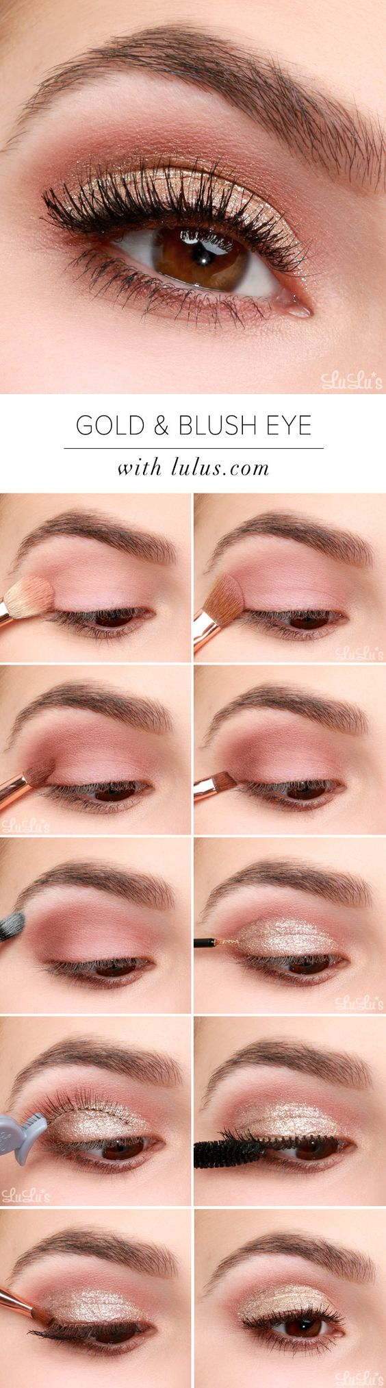 Fashionble Natural Eye Makeup Tutorials for Work - Styles Weekly