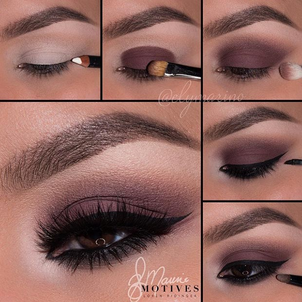 Faddish Brown Eye Makeup Tutorial