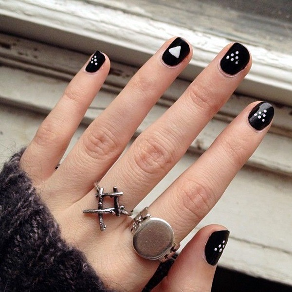 16 Chic Black And White Nail Designs You Will Love Styles Weekly