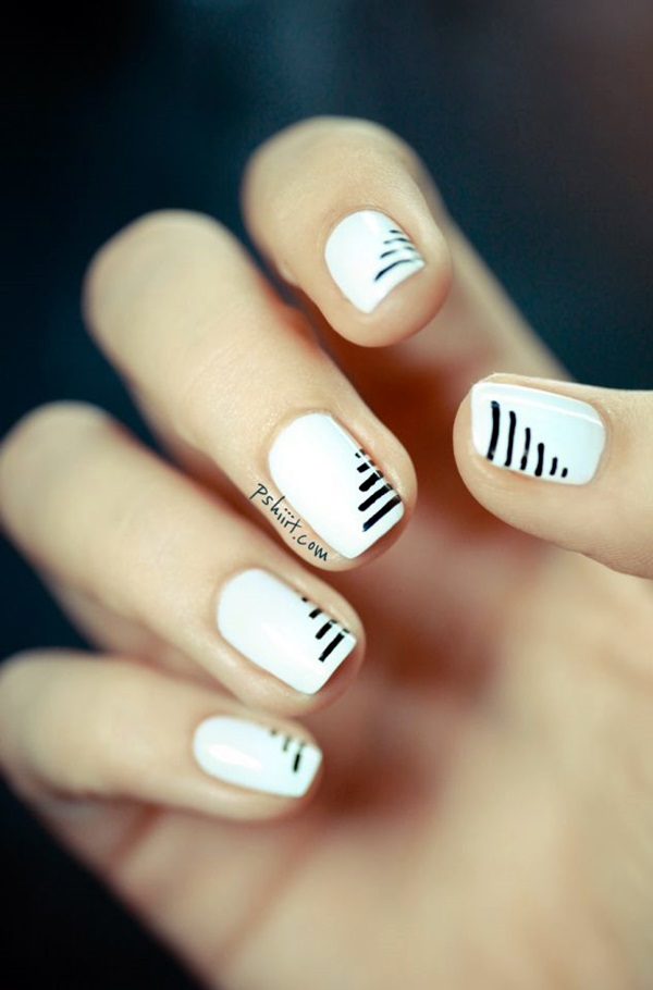 16 Chic Black and White Nail Designs You Will Love | Styles Weekly