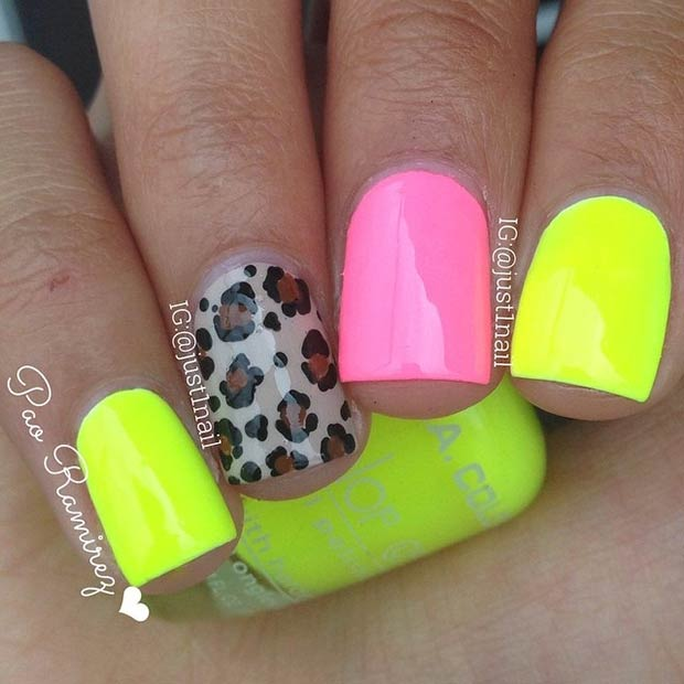 20 hot and chic summer nail designs to try styles weekly nail prinsesfo Image collections