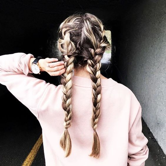 17 Chic Double Braided Hairstyles You Will Love Styles Weekly