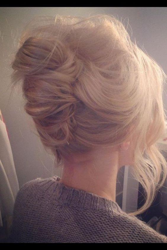 Wondrous 16 Fashionable French Twist Updo Hairstyles Styles Weekly Short Hairstyles Gunalazisus