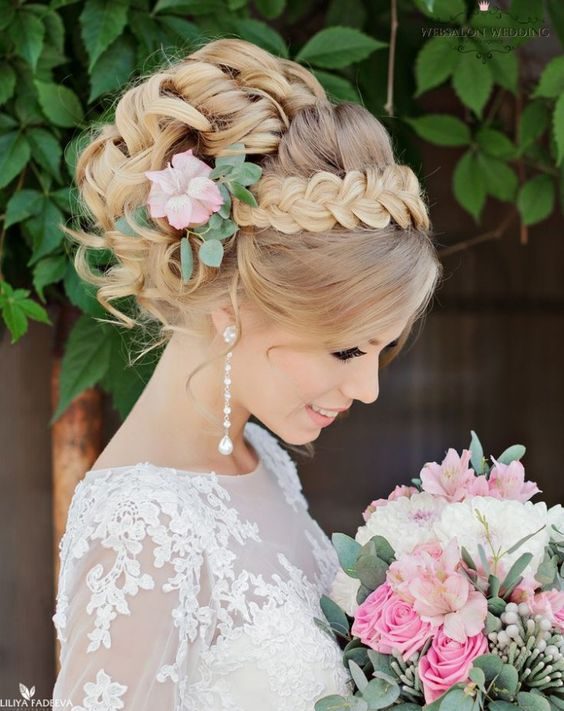 Admirable 18 Beautiful Wedding Hairstyles You Must Like Styles Weekly Hairstyles For Women Draintrainus