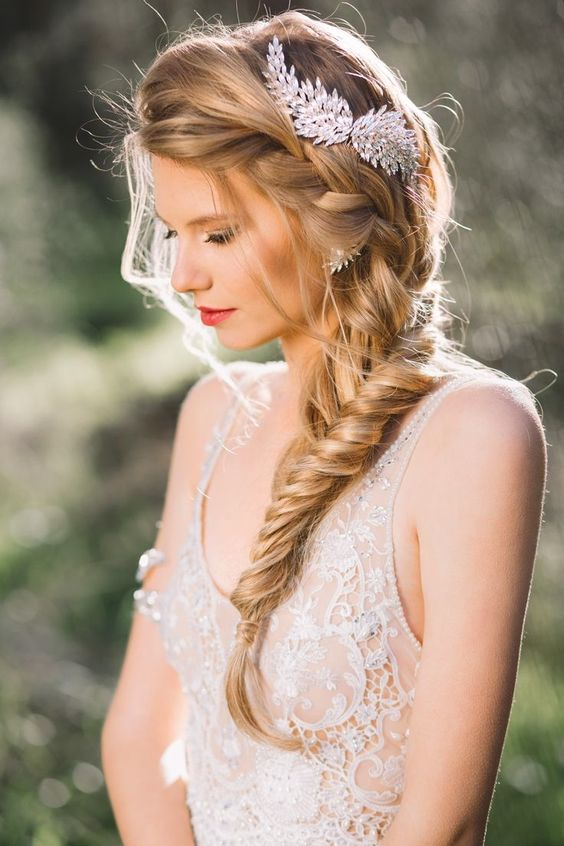 Beautiful Bridal Hairstyles : 18 beautiful wedding hairstyles you must like! styles weekly